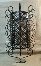 Vintage Chandelier type Antique Metal Bird Cage Light Ceiling Fixture Lamp cover