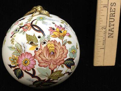 Royal Windsor Potpourri Bulb Ball Ornament Fine Bone China Woods Of Windsor 3 Ebay