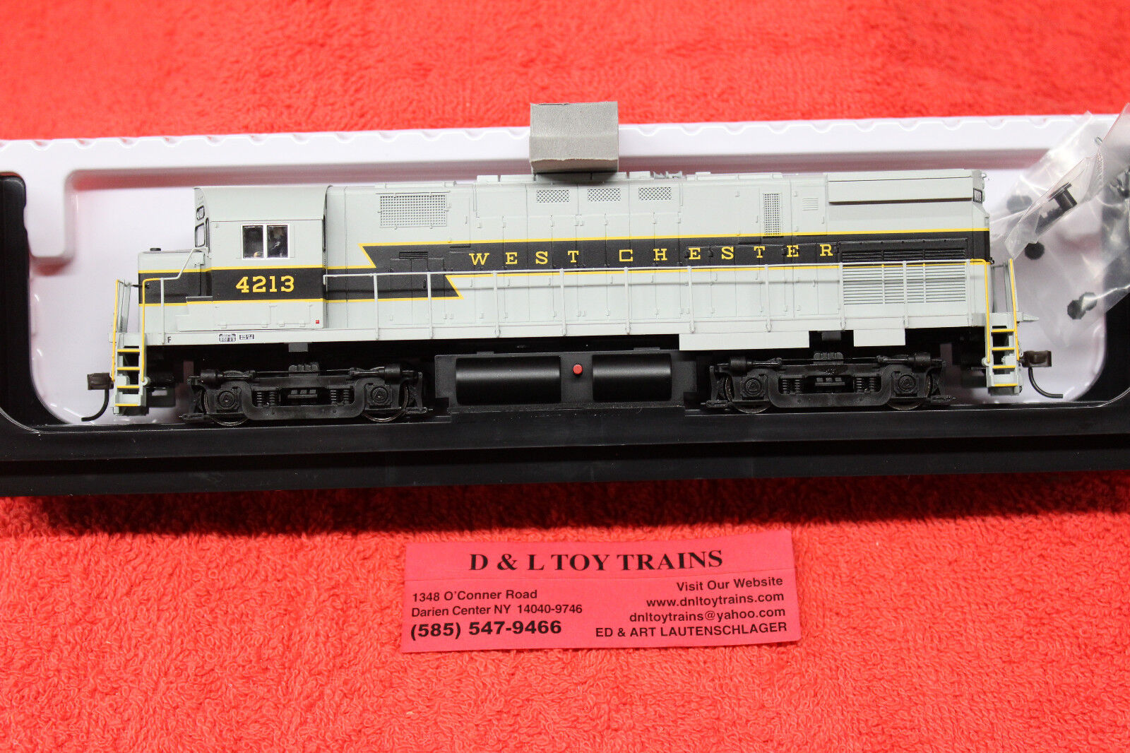 10002531 West Chester Railroad C424 Phase 3 DCC Ready Diesel Engine