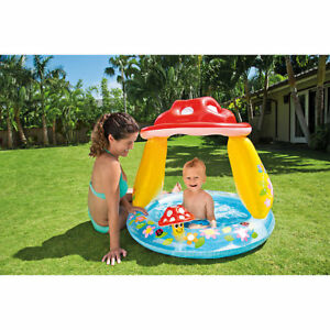 INTEX Mushroom BabyToddler Paddling Pool  Ball PoolSand Pit with Shaded Top - Torquay, United Kingdom - INTEX Mushroom BabyToddler Paddling Pool  Ball PoolSand Pit with Shaded Top - Torquay, United Kingdom