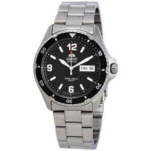 Orient-Mako-II-Automatic-Black-Dial-Men-039-s-Watch-FAA02001B9