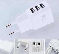 3USB Ladegerät Adapter Netzteil Netzstecker fur Iphone Samsung Universal 2A 5V
