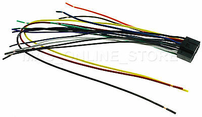 wire harness for kenwood kdc 348u kdc348u kdc 352u kdc352u *ships today* ebay  kenwood kdc mp165u wire harness