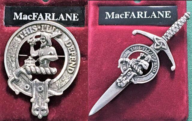 Scott Scottish Clan Crest Lapel Pin Badge