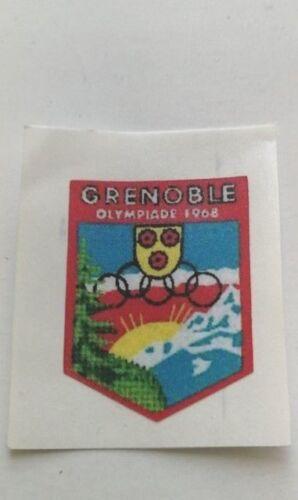 Corgi 499 Citreon Grenoble Winter Olympics bonnet decal only