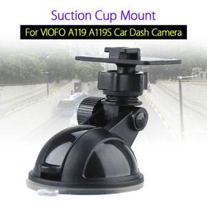Suction-Cup-Mount-Bracket-Holder-For-VIOFO-A119-A119S-1440P-Car-Dash-Cam-Black