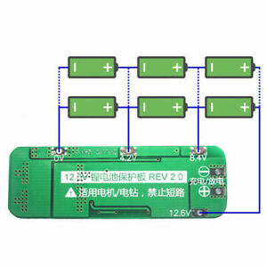 3S-12-6V-20A-Cell-18650-Li-ion-Battery-Charger-BMS-HOT-Protection-Board-PC-M7M5