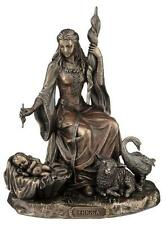 Frigga Frigg Frau von Odin 20 cm bronzierte Figur,Veronese Kollektion,Neu