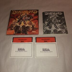 """HTF Commodore 64&128 Game DEATHLORD Complete CIB UNTESTED 5.25"""" Disks"""