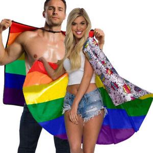 Rubies-Certified-Pride-Super-Pride-Capes-LGBTQ-RNBW-PLUR-Novelty