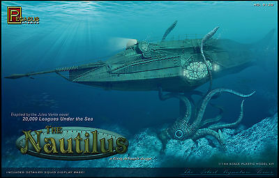 Pegasus 20,000 Leagues Under the Sea NAUTILUS Submarine model kit  1/144