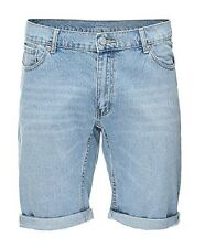 Cheap Monday Denim Shorts High Cut Sky Mens Size W32 Box2401 Q