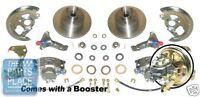 1968-74 Chevrolet Nova Power Disc Brake Conversion With Booster