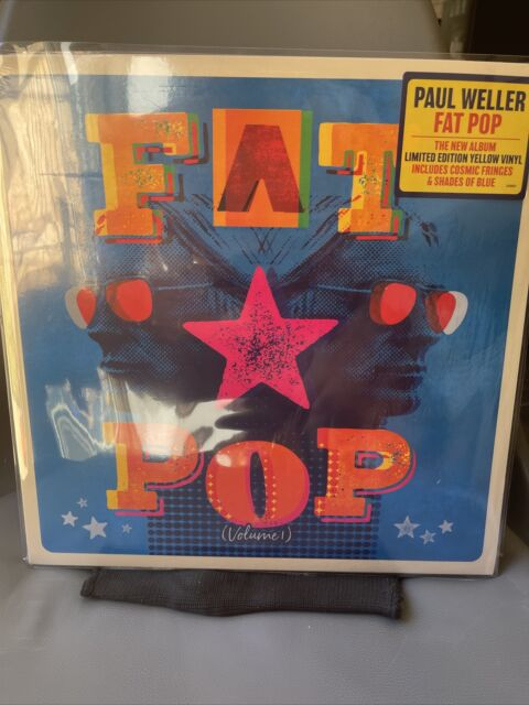 Paul Weller - Fat Pop (Volume 1) - New Yellow Vinyl LP - Unsealed In Cling