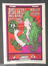 Vintage 1966 Jim Kweskin Jug Band Big Brother & The Holding Company Poster