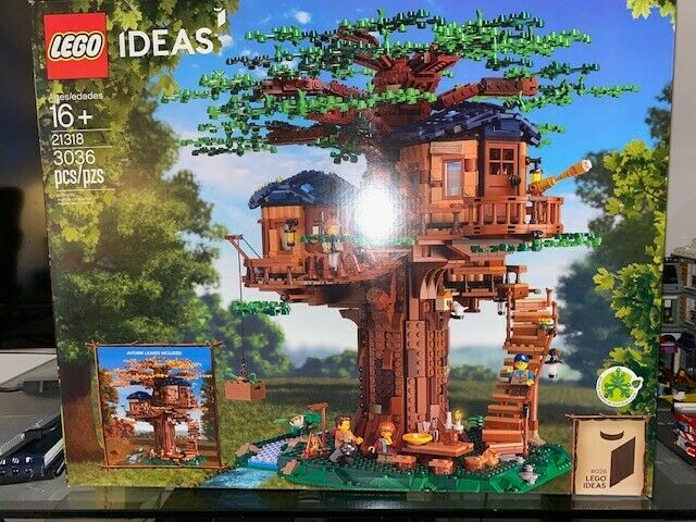 LEGO Ideas Tree House (21318) Brand new in Box (BNIB) sealed and authentic
