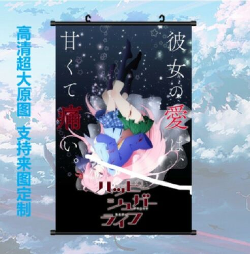 Anime Happy Sugar Life Satou Matsuzaka Promotion Poster Wall Scroll 60x40cm