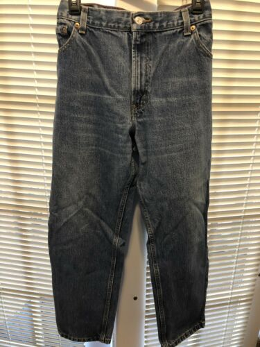 Levis 550 Jambe Coupe Jeans 14 Relaxed Womens S Conique Taille AOqwdn4