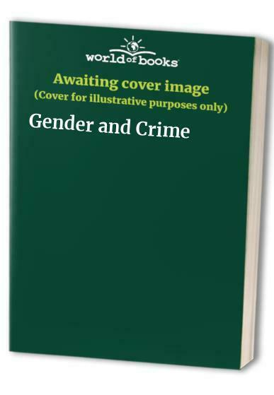 Gender and Crime Paperback Book The Fast Free Shipping