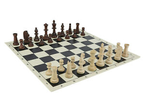 Tournament-Staunton-3-5-034-Chess-Set-Chess-pieces-3-5-034-Black-Roll-Up-Board-20-034