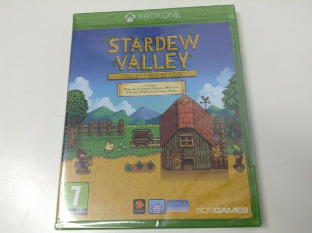 STARDEW VALLEY COLLECTOR'S EDITION . Pal España . Envio Certificado . Paypal