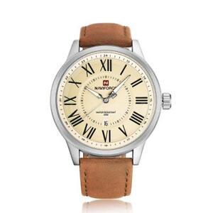 3ATM-Waterproof-NAVIFORCE-Fashion-Men-Quartz-Luminous-Casual-Wristwatch-U4E2