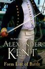 Form Line of Battle by Alexander Kent (Paperback, 2006)