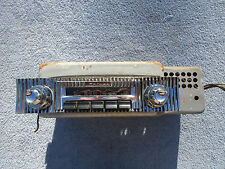 1956 Oldsmobile 88 98 AM Radio Deluxe with Plate and Knobs