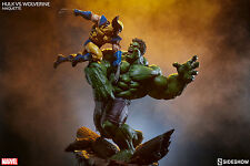 Sideshow Hulk vs. Wolverine Maquette - X-Men, Avengers, Statue