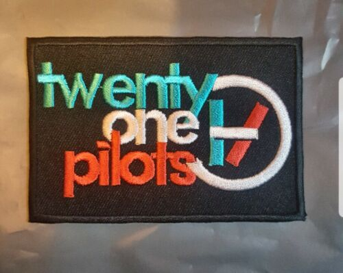 21 Pilots Twenty One Pilot Embroidered Iron On Sew On Patch Uk