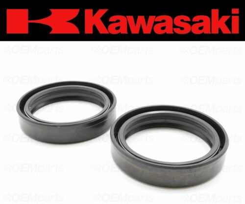 2 #92049-0064 Kawasaki Front Fork Oil Seal See Fitment Chart Set of