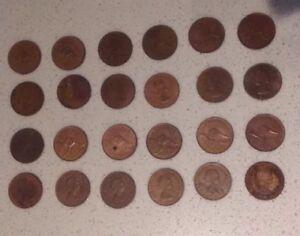 1964-Australian-Penny-24-Pennies