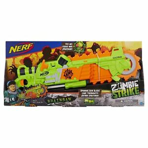 Nerf - Zombie Strike - Brainsaw UK STOCK