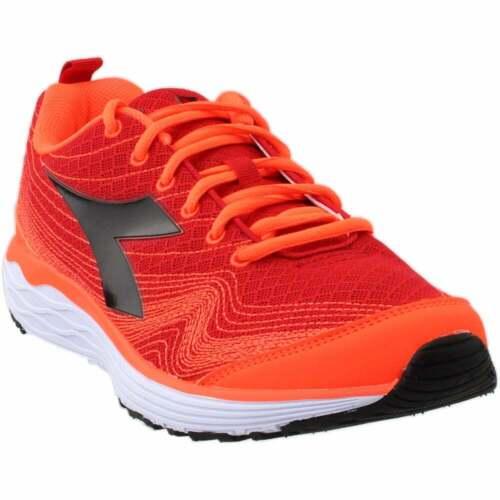 Diadora Flamingo Casual Chaussures De Course-Rouge-Homme