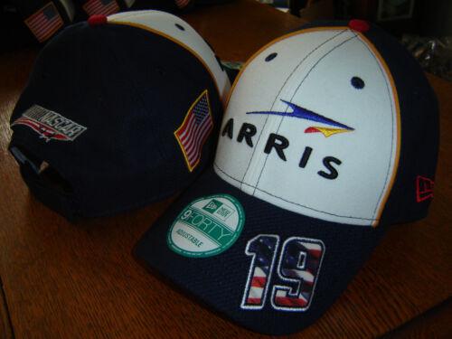 #19 CARL EDWARDS ARRIS New Era NASCAR American Salute 9Forty Hat FREE SHIP!