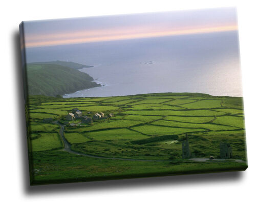 Cornwall Rosemergy Farm England Giclee Canvas Picture Art
