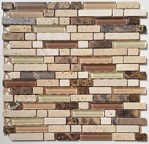Netz X Cm Murcia Travertin Marmor Stäbchen Mosaik Fliesen Wand - Stäbchen mosaik fliesen