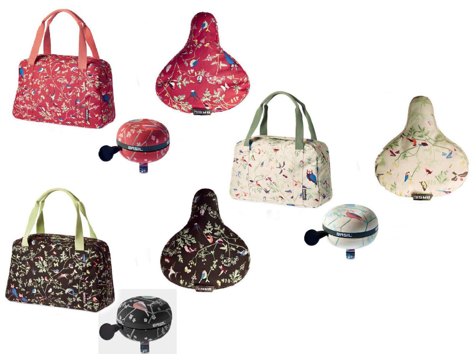 Set  Basil wanderlust carry all Bag bolso & sattellbezug & timbre