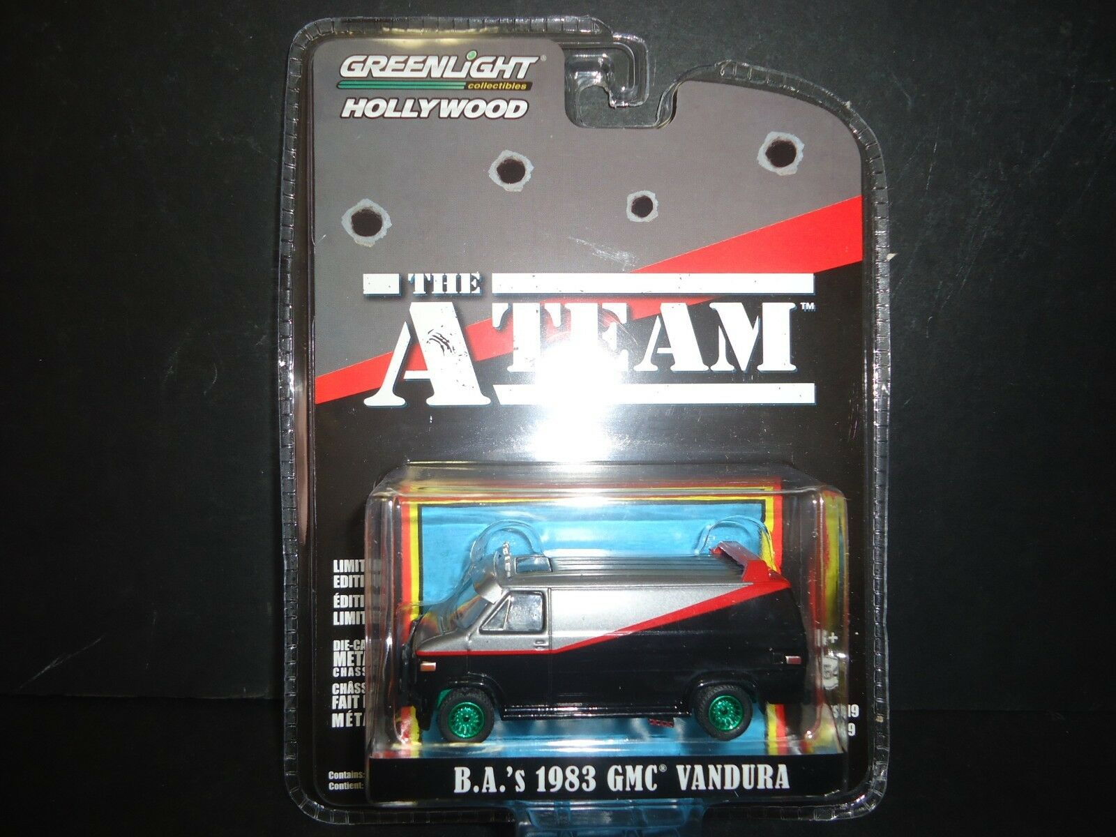Greenlight GMC Vandura 1983 The A Team 44790 B 1 64 CHASE