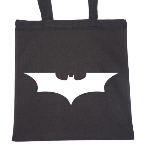 Mens Tote Natural Cotton Fashion Shopper Bag Gym Shopping Beach DC/'s Batman
