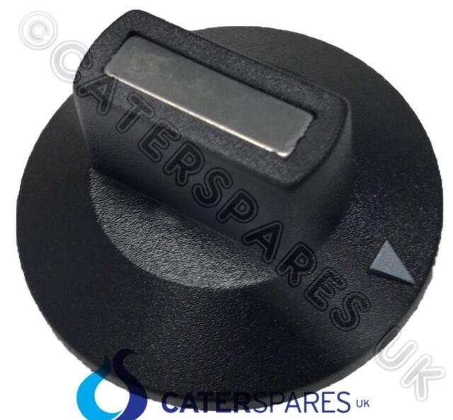 Buffalo N243 Plástico Negro en Blanco de Control para Plancha Grill Horno GF453