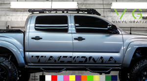 Details about Toyota Tacoma Vinyl Decal Sticker Graphics TRD Sport Side  Door x2