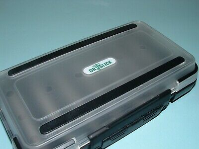 Dr Slick Large Fly Box Waterproof Slit Foam w// Extra Insert Fly Fishing BOXL