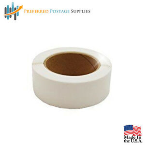 Details about Wafer Seals - 1 5 Inch Round Crystal Clear Circle Labels,  5000 lables per Roll
