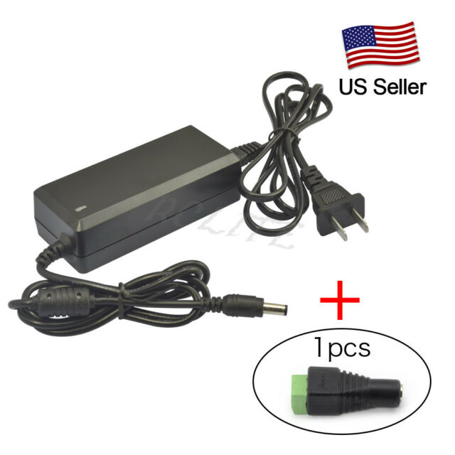 DC 12V 3A 36W Power Supply Transformer Adapter Connector For 3528/5050 LED Strip