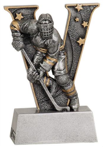 "6/"" V Series Resin Hockey Trophy  JDSV808"