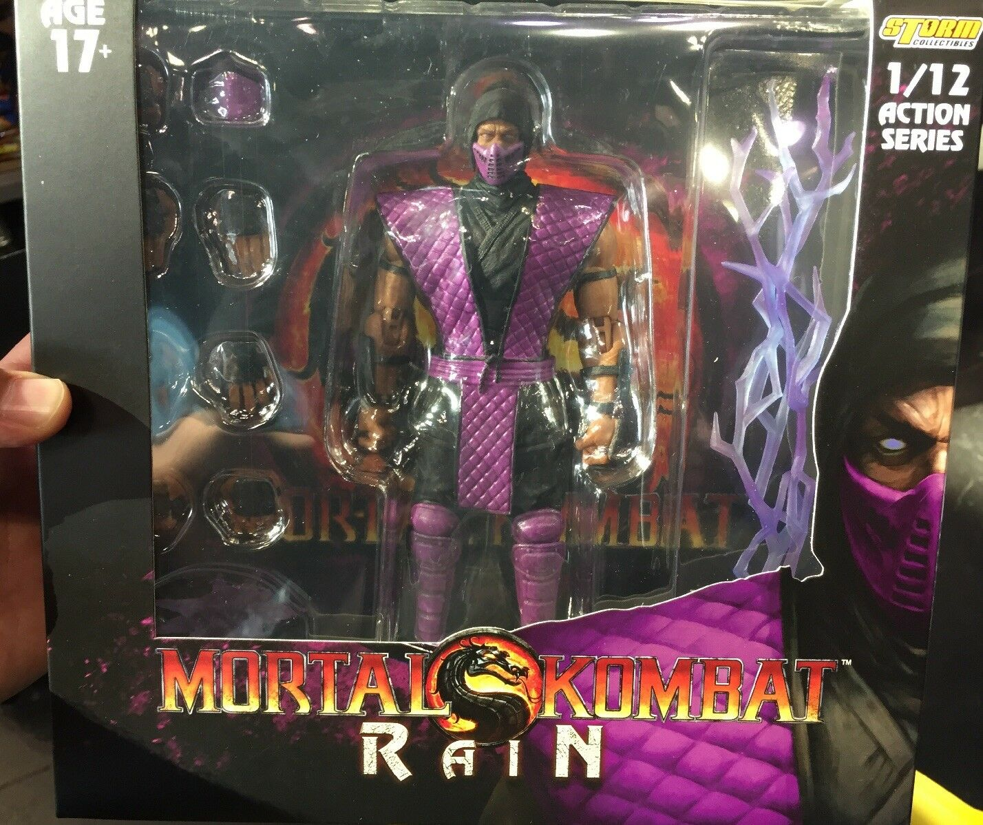 Storm Collectibles Mortal Kombat Rain 1/12 Figure 2018 NYCC Exclusive IN HAND
