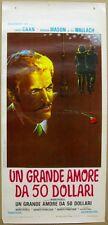UN GRANDE AMORE DA 50 DOLLARI - Locandina Originale Cinema James Caan 1974