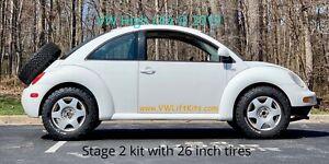 Lift-Kit-VW-New-Beetle-Stage-2-Suspension-w-Coil-Spacer-MK4-1998-2010-Baja-Bug