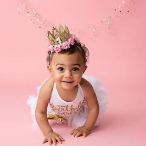 Cute-Baby-Kid-Girl-Crown-Princess-Hair-Clip-Gold-Lace-Pearl-Headband-Tiara-Party